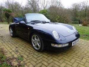 1996 Porsche 911 993 C4 Cabriolet For Sale