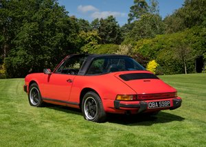 1976 Porsche 911S Targa SOLD by Auction