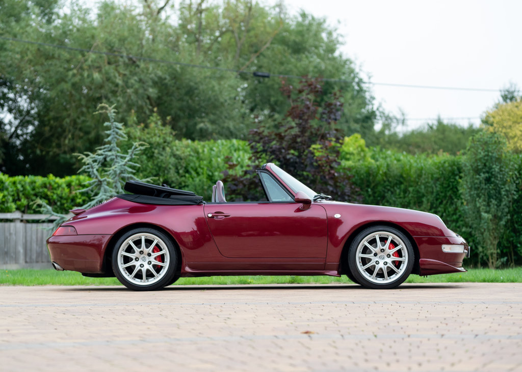 1996 Porsche 911  993 Carrera 4 Cabriolet SOLD by Auction (picture 1 of 6)