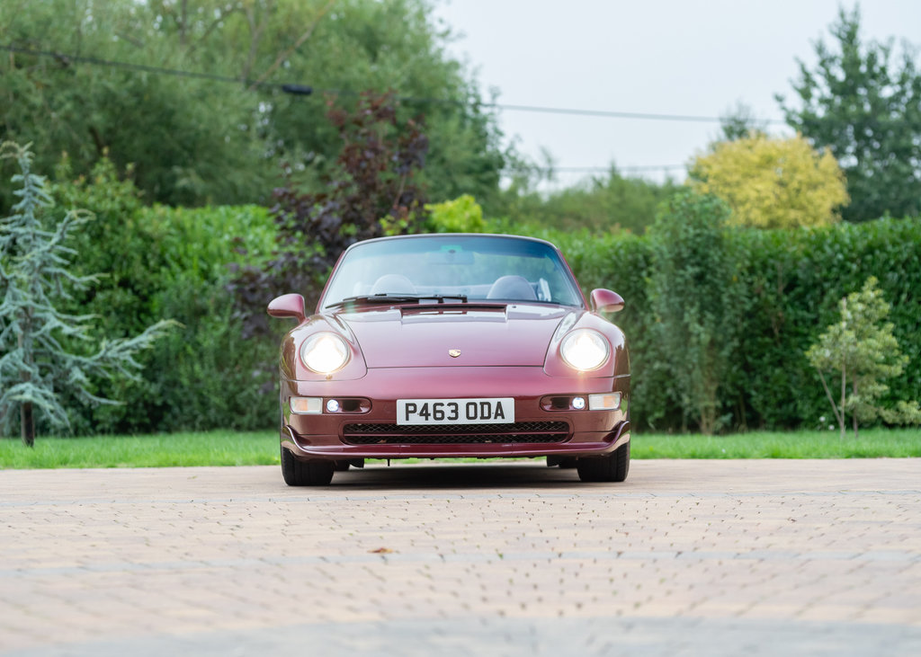 1996 Porsche 911  993 Carrera 4 Cabriolet SOLD by Auction (picture 2 of 6)