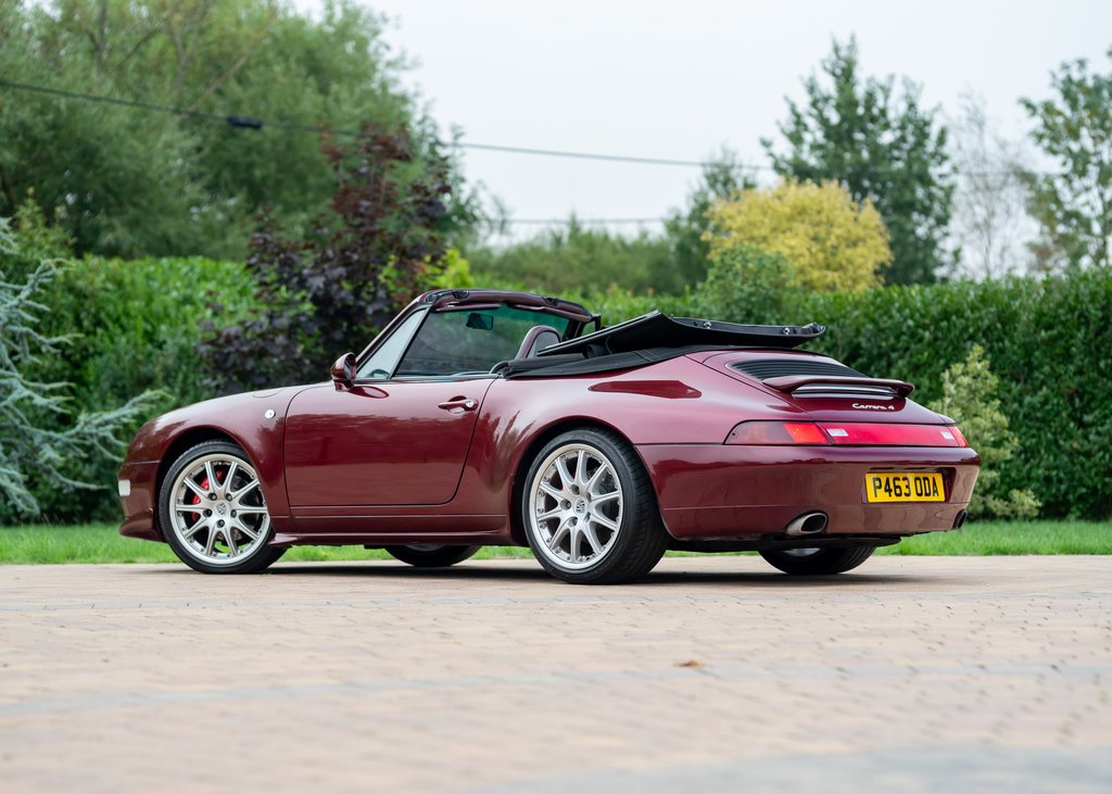 1996 Porsche 911  993 Carrera 4 Cabriolet SOLD by Auction (picture 3 of 6)