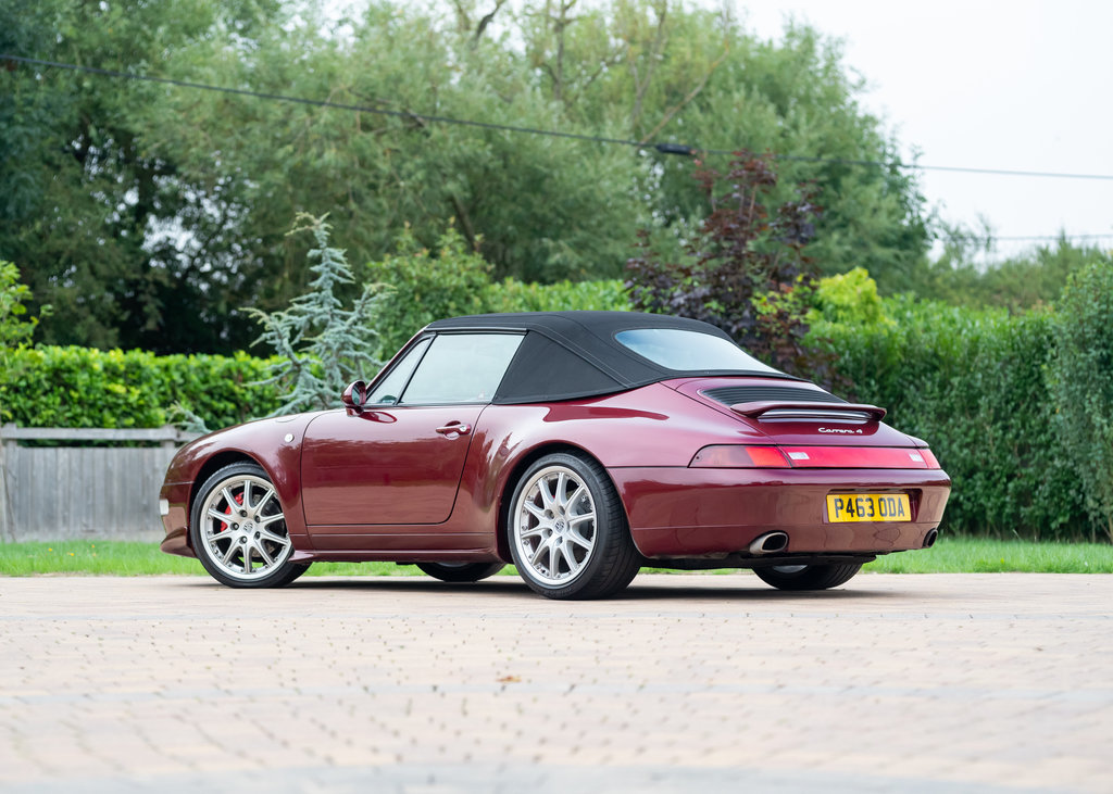 1996 Porsche 911  993 Carrera 4 Cabriolet SOLD by Auction (picture 4 of 6)