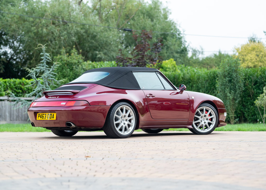1996 Porsche 911  993 Carrera 4 Cabriolet SOLD by Auction (picture 5 of 6)