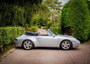 1995 Porsche 911993 Carrera Convertible For Sale by Auction
