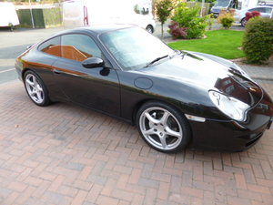 2003 911 Carrera 4 Beautiful Black Mint  low mileage For Sale
