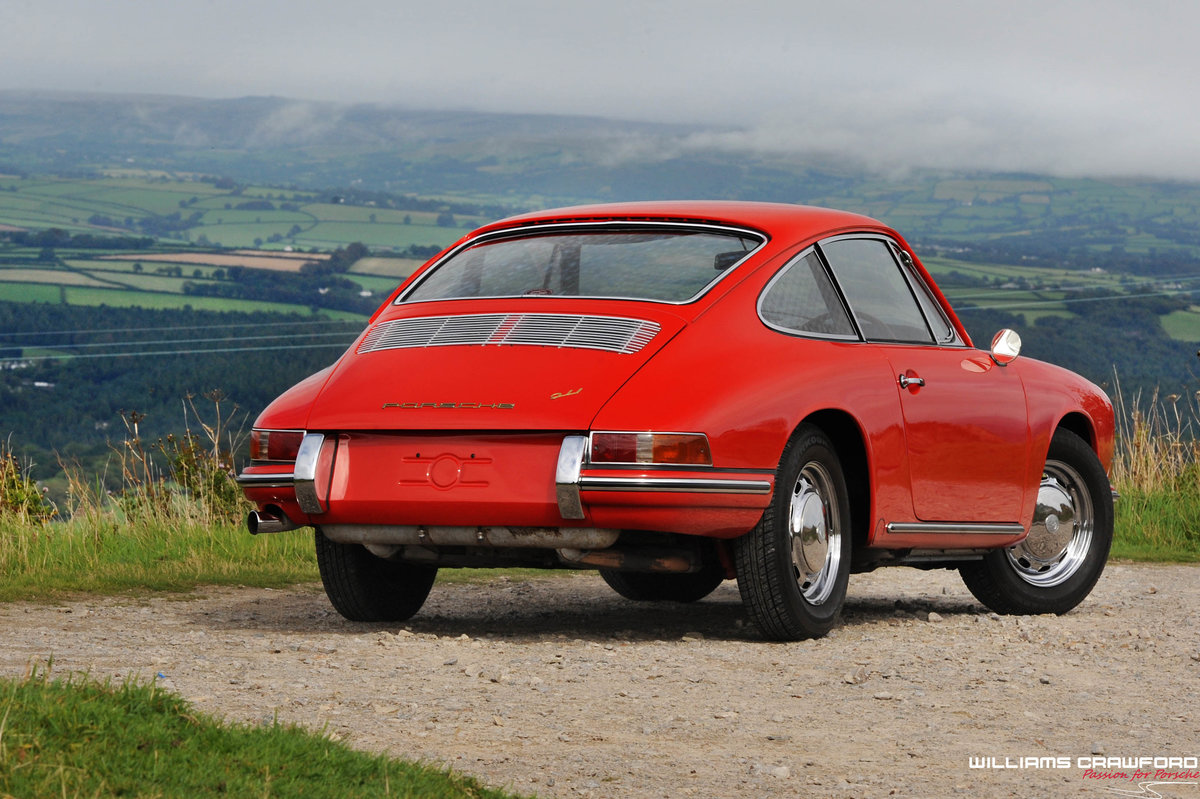 1965 Matching numbers Porsche 911 SWB RHD coupe For Sale (picture 2 of 6)