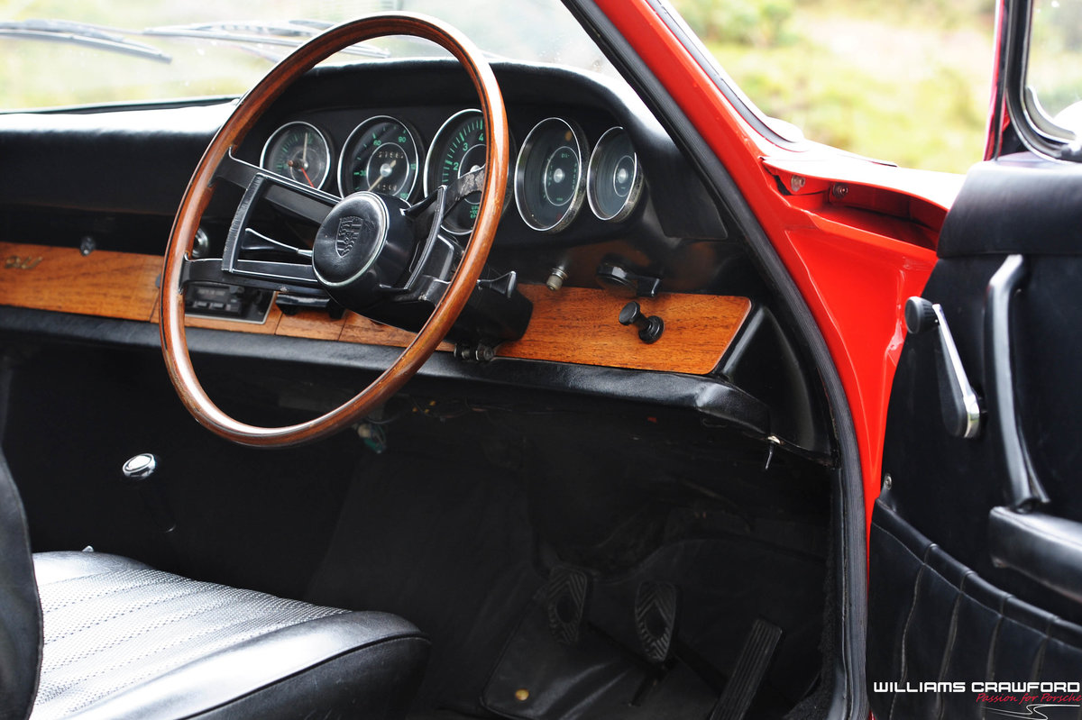 1965 Matching numbers Porsche 911 SWB RHD coupe For Sale (picture 3 of 6)