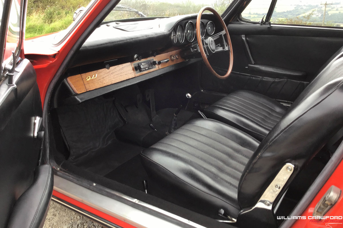 1965 Matching numbers Porsche 911 SWB RHD coupe For Sale (picture 4 of 6)