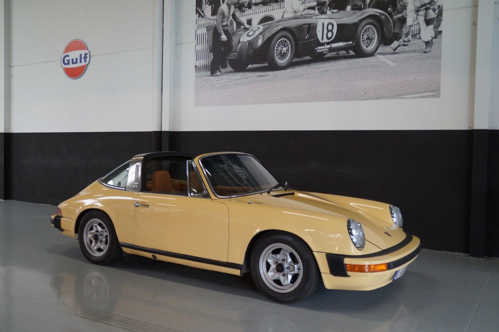 PORSCHE 911 911S 2.7 Targa Rare Colour Combination (1974) For Sale (picture 1 of 6)
