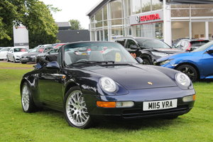 1995 993 Carerra 2 Cabriolet For Sale