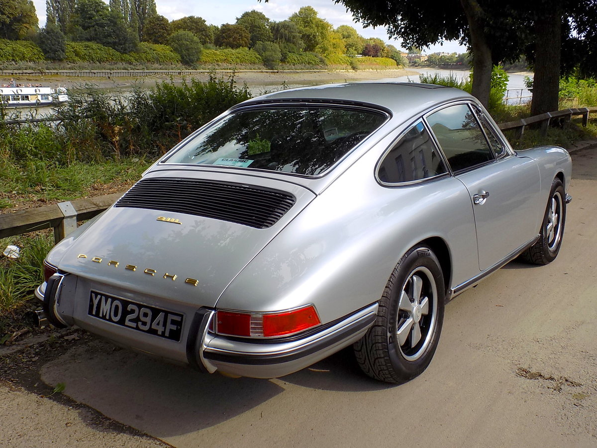 1968 PORSCHE 911L 2.0 SWB COUPE - LHD - MATCHING NUMBERS For Sale (picture 5 of 6)