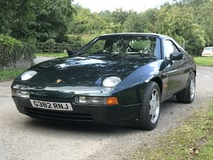 1989 Porsche 928 GT 30,050 miles from new For Sale by Auction