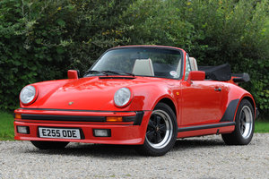 1988 Porsche 911 Supersport Cabriolet For Sale by Auction