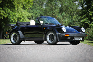 1986 PORSCHE 911 CARRERA 3.2 SUPERSPORT CABRIOLET For Sale by Auction