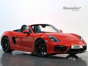 2015 15 15 PORSCHE BOXSTER GTS MANUAL For Sale