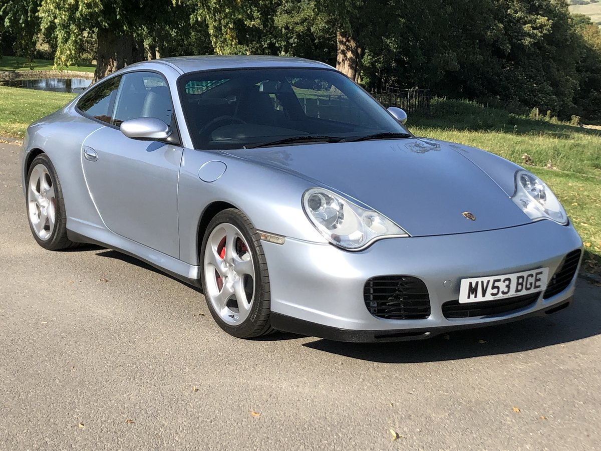 2003 996 Carrera 4S Tiptronic S, 3 Owners, 45k For Sale (picture 1 of 6)