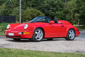 1994 PORSCHE 911 (964) SPEEDSTER - EX-DARIO FRANCHITTI For Sale by Auction