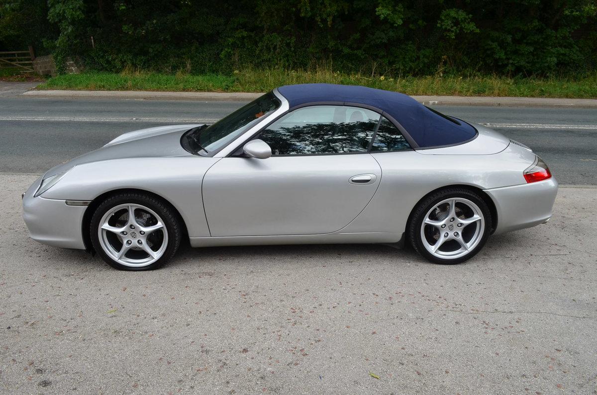 2003 Porsche 911 Carrera 2 Cabriolet Tiptronic Sat/Nav For Sale (picture 3 of 6)