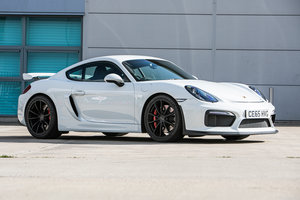 2015 Porsche Cayman GT4 just 4,300 miles from new For Sale by Auction