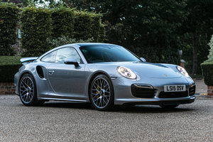2015 Porsche 911 (991) Turbo S  For Sale by Auction