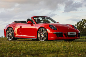 2015 Porsche 911 (991) Carrera Convertible GTS Manual For Sale by Auction
