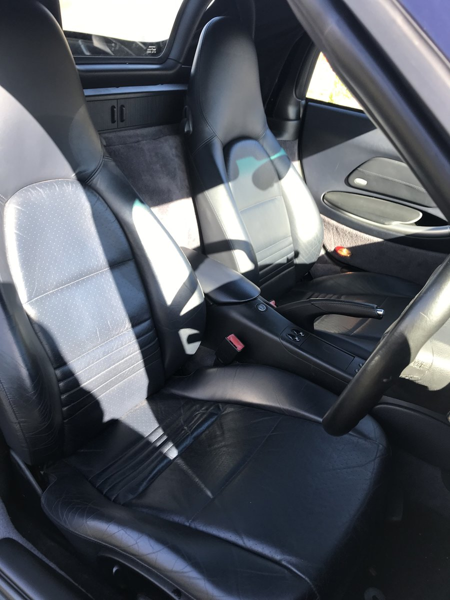 2000 Porsche Boxster S Ocean Blue with Blue interior For Sale (picture 5 of 6)