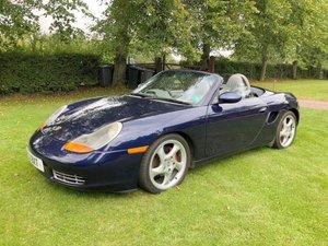 2001 Porsche Boxter For Sale by Auction