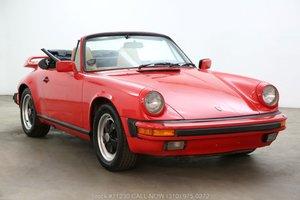 1985 Porsche Carrera Cabriolet For Sale