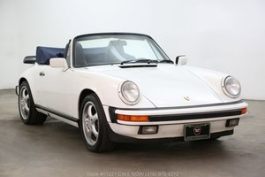 1987 Porsche Carrera Cabriolet For Sale