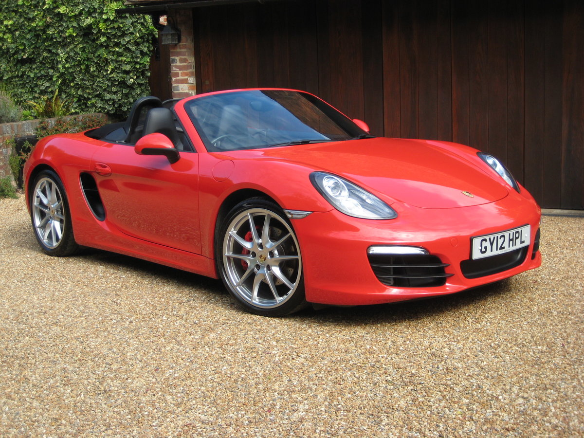 2012 Porsche Boxster 3.4 981 S PDK 1 Lady Owner With £12k Options For Sale (picture 1 of 6)