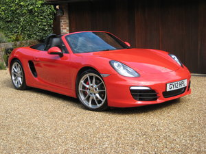2012 Porsche Boxster 3.4 981 S PDK 1 Lady Owner With £12k Options For Sale
