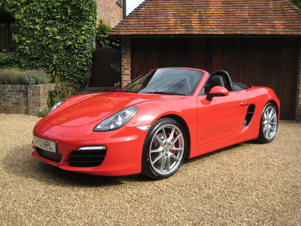 2012 Porsche Boxster 3.4 981 S PDK 1 Lady Owner With £12k Options For Sale (picture 2 of 6)