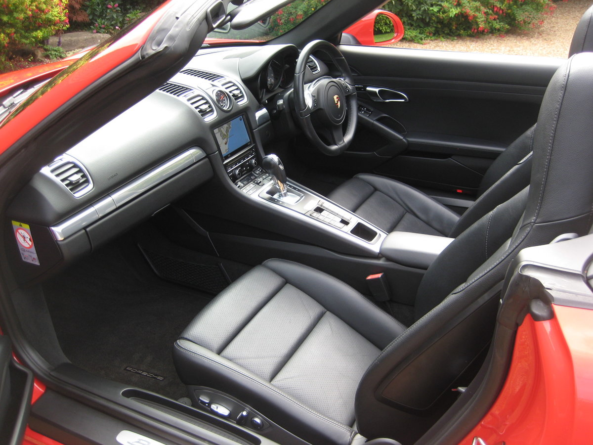 2012 Porsche Boxster 3.4 981 S PDK 1 Lady Owner With £12k Options For Sale (picture 3 of 6)