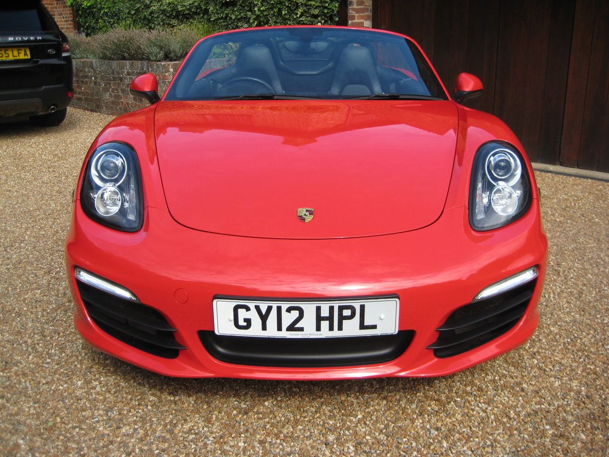 2012 Porsche Boxster 3.4 981 S PDK 1 Lady Owner With £12k Options For Sale (picture 6 of 6)