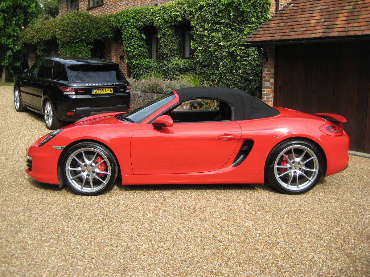 2012 Porsche Boxster 3.4 981 S PDK 1 Lady Owner With £12k Options For Sale (picture 5 of 6)