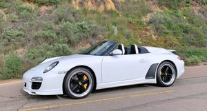 2011 Porsche 911 Speedster 997.2 White Rare 1 of 356 made