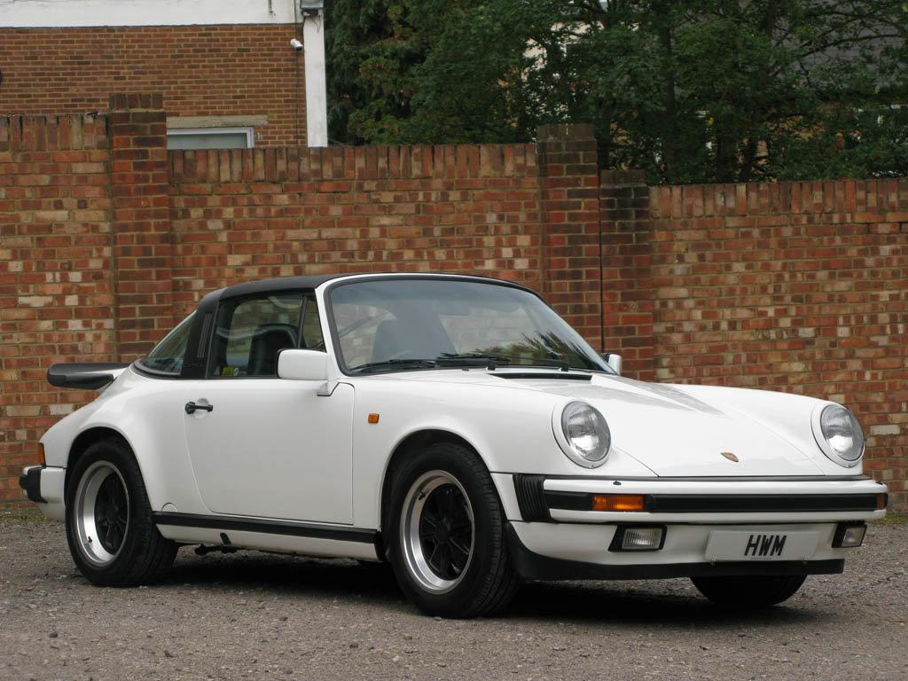 1989-PORSCHE  911 CARRERA 3.2 SPORT TARGA -  For Sale (picture 1 of 6)
