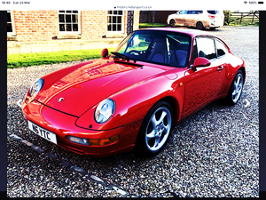 1958 PORSCHE 911 CARRERA 993 AUTO TIP COUPE For Sale