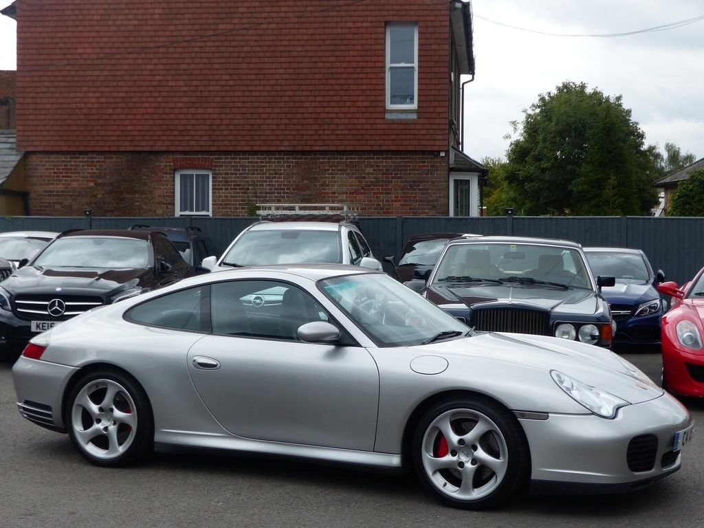 2003 PORSCHE 911 996 3.6 CARRERA 4S TIPTRONIC S TURBO WIDE BODY For Sale (picture 1 of 6)