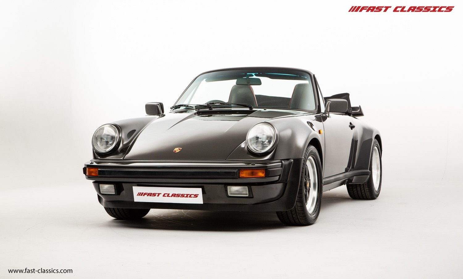 1990 PORSCHE 911 TURBO CABR // SLATE GREY // G50 GEARBOX  For Sale (picture 2 of 6)