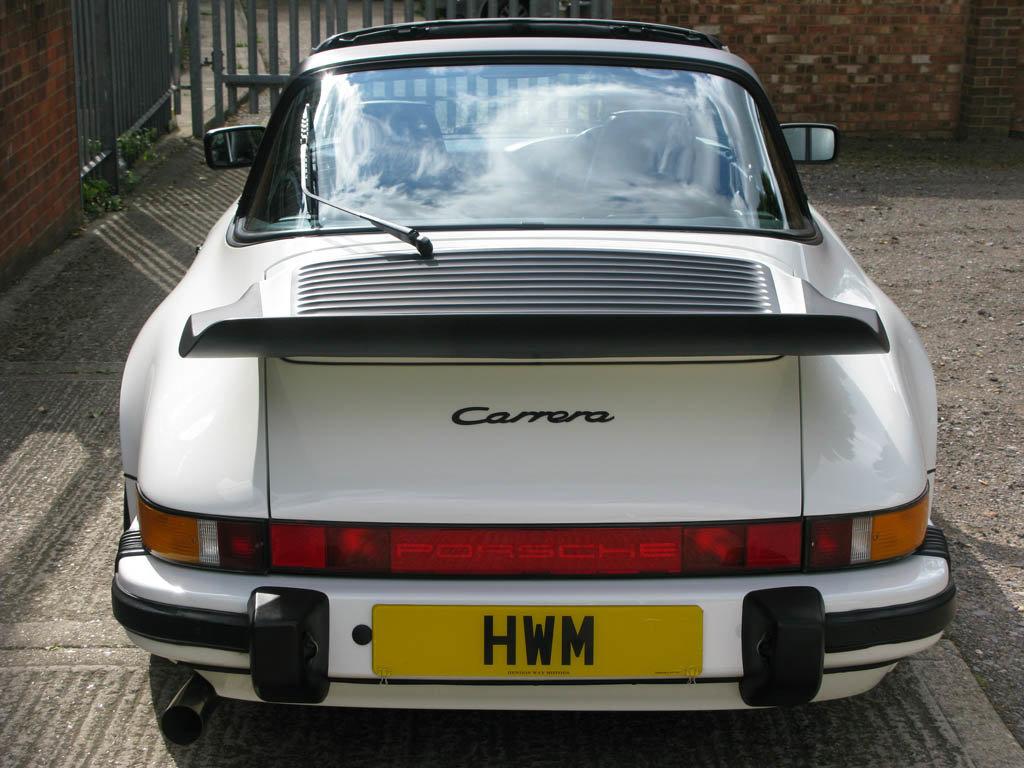 1989-PORSCHE  911 CARRERA 3.2 SPORT TARGA -  For Sale (picture 4 of 6)