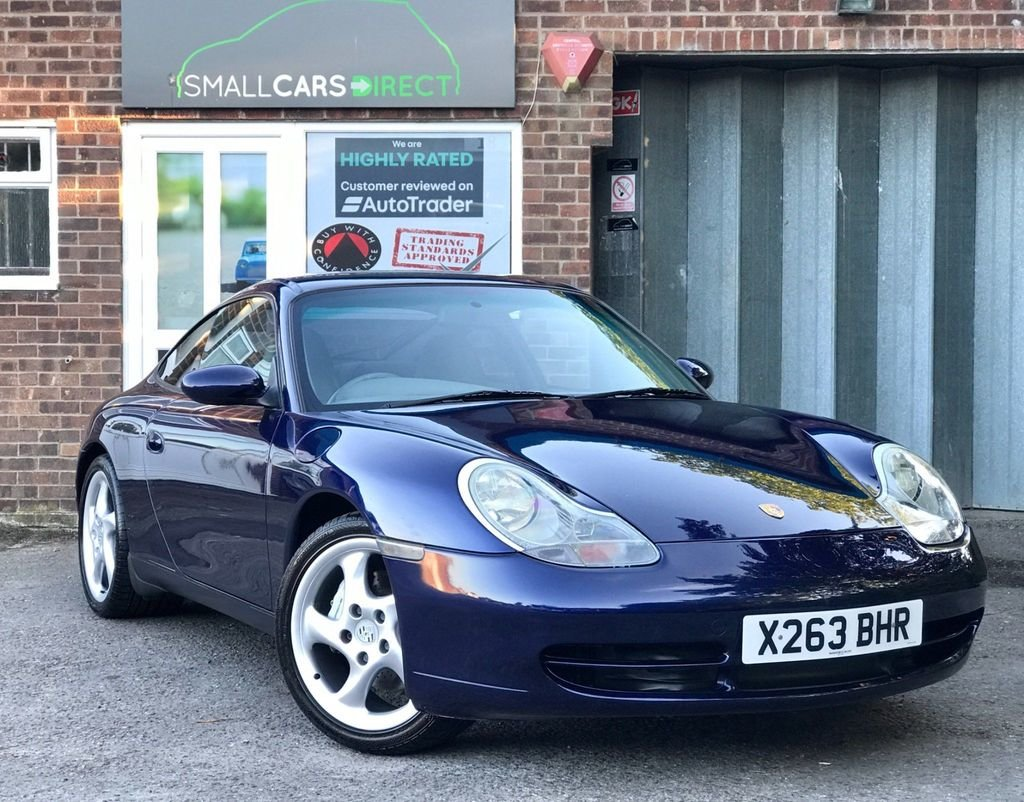 2000 Porsche 911 Carrera 4 3.4 996 Manual Coupe Lapis Manual Blue For Sale (picture 1 of 6)