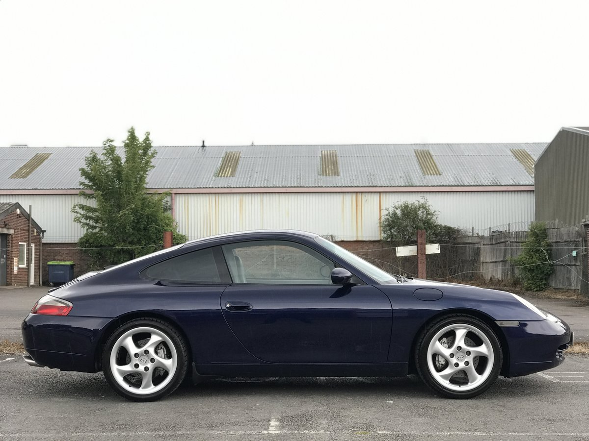 2000 Porsche 911 Carrera 4 3.4 996 Manual Coupe Lapis Manual Blue For Sale (picture 3 of 6)