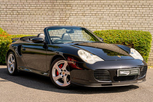 2004 Porsche 911 996 Turbo 3.6 Tiptronic S Cab For Sale