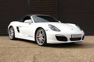 2013 Porsche 981 Boxster S 3.4 24V PDK Convertible (15,000 miles) For Sale