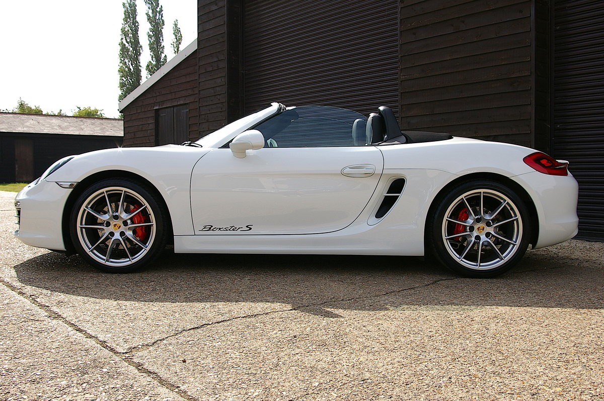 2013 Porsche 981 Boxster S 3.4 24V PDK Convertible (15,000 miles) SOLD (picture 2 of 6)