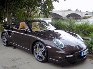 2008 PORSCHE 911 (997) TURBO TIPTRONIC S AWD CABRIOLET SOLD