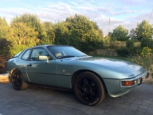 1985 Porsche 924S 2.5 Manual Crystal Green For Sale