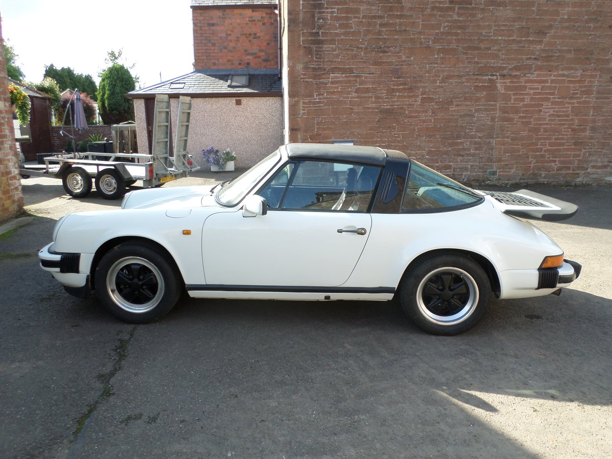 1984 Porsche 911 3.2 Carrera S Targa may consider part exchange For Sale (picture 1 of 6)