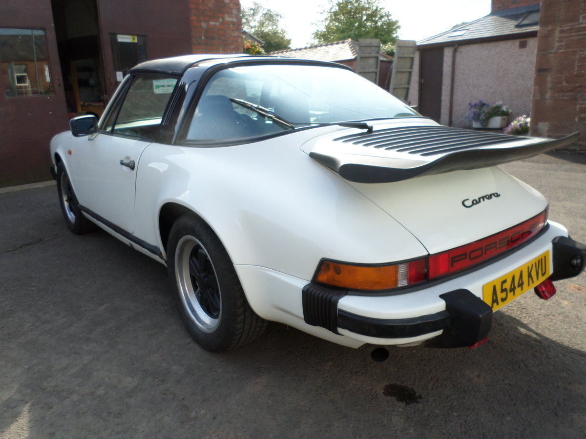 1984 Porsche 911 3.2 Carrera S Targa may consider part exchange For Sale (picture 3 of 6)